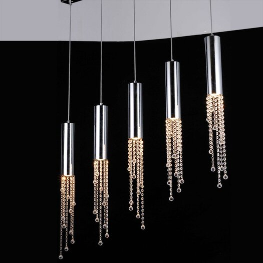 Bromi Design Jael 5 Light Pendant