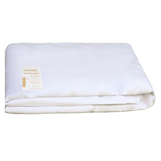 Ettitude Platypus Organic Pure Bamboo 300 Thread Count Cot Fitted Sheet