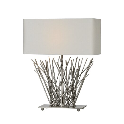 "Ren-Wil Stick 23"" H Table Lamp with Rectangular Shade"