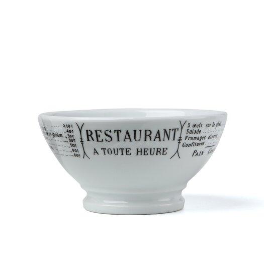 Pillivuyt Brasserie 13 oz. Cafe Au Lait Serving Bowl
