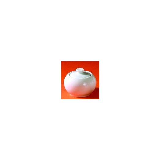 Pillivuyt Sancerre 6 oz. Sugar Bowl with Lid