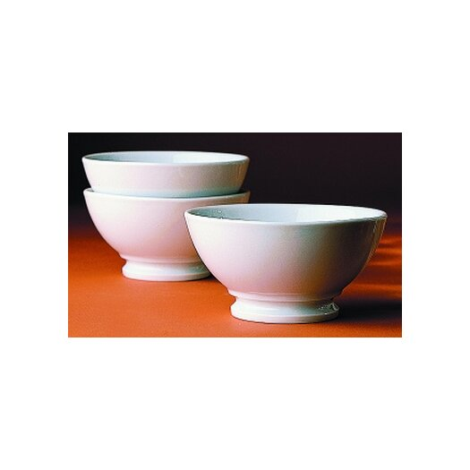 Pillivuyt 13 oz. Plain Coffee Bowl