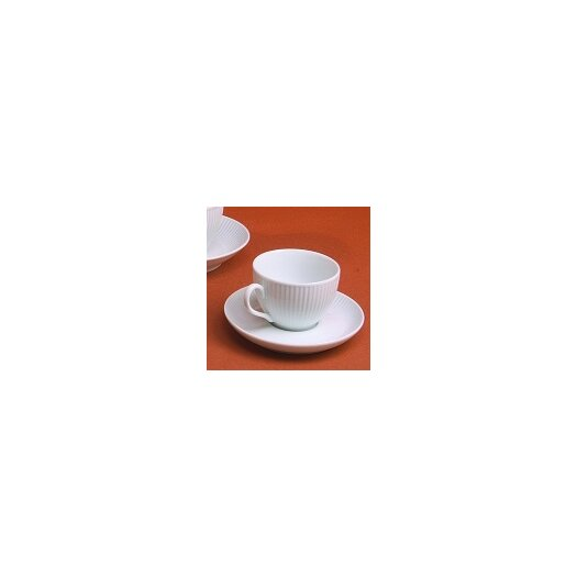 Pillivuyt Plisse Saucer for Breakfast Cup
