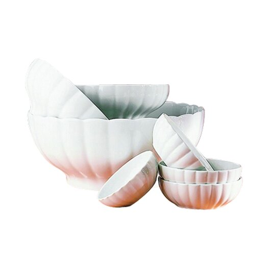 Pillivuyt Ribbed Serving Bowl