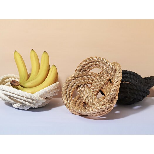Areaware Reality Rope Knot Decorative Bowl II