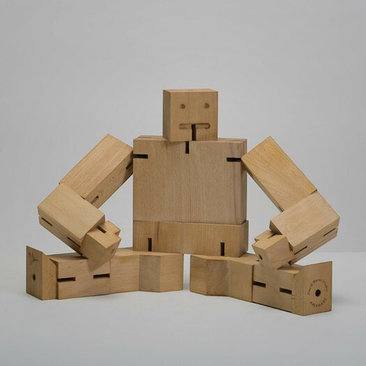 Areaware Extra Large Cubebot Sculpture
