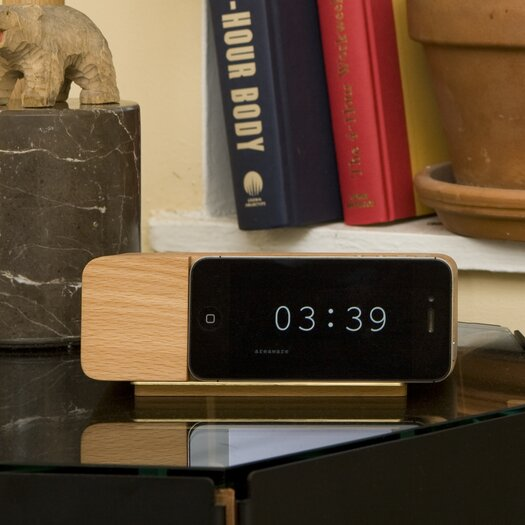 Areaware Alarm Docking Station for iPhone 5