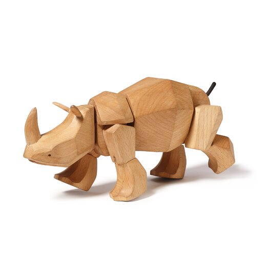 David Weeks Simus the Rhino Figurine