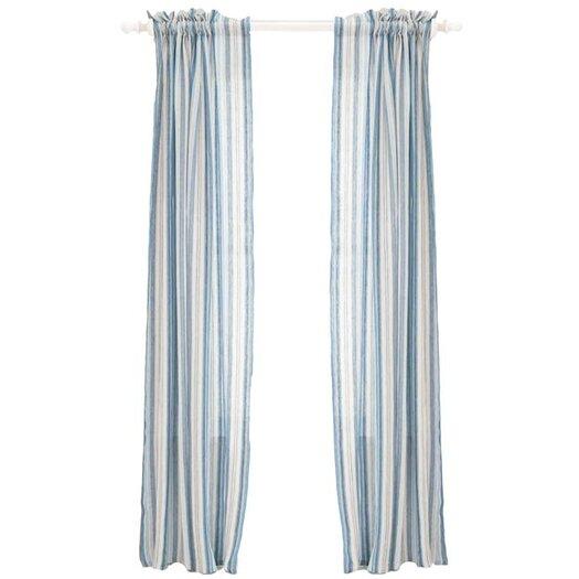 Jeco Inc. Honfleur Linen Rod Pocket Curtain Panel