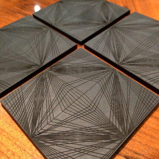 Brave Space Design Diamond Cut Coaster