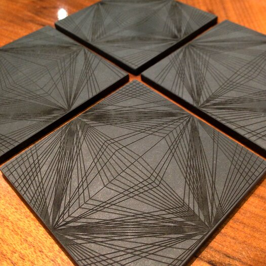Brave Space Design Diamond Cut Coaster