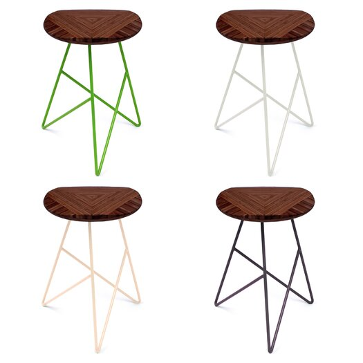 "Brave Space Design Acute 19"" Short Stool"