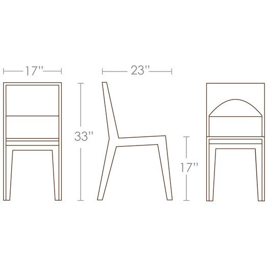 Brave Space Design Hollow Side Chair