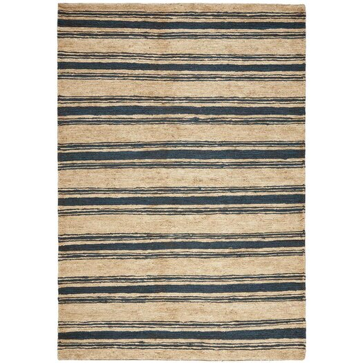 Cliff Stripe Harbor Gray / Tan Area Rug