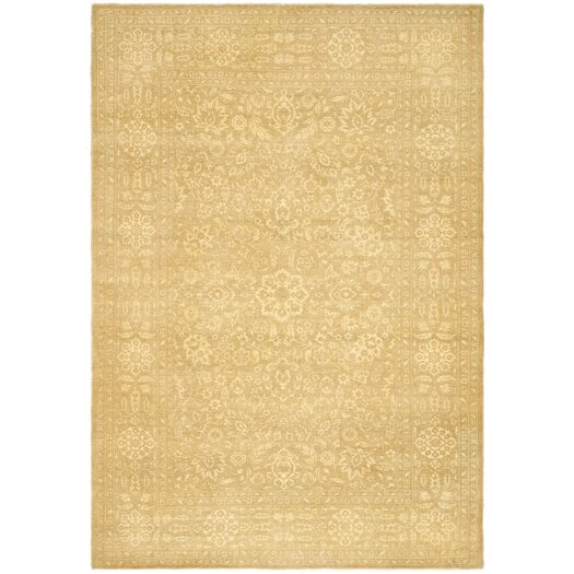 Ralph Lauren Home Harper Tonal Madison Gold Floral Area Rug