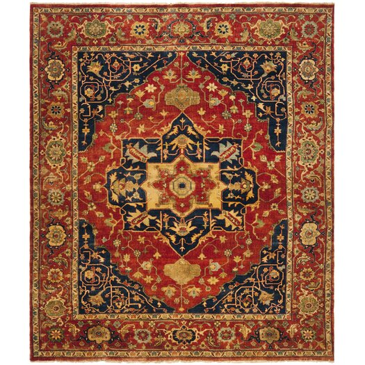 Ralph Lauren Home Eastwood Red Area Rug