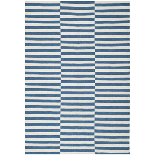 Ralph Lauren Home River Reed Stripe Ink Rug