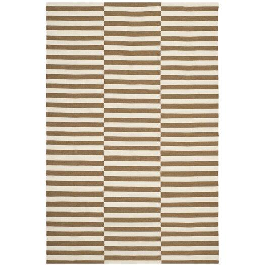 River Reed Stripe Adobe Rug
