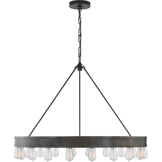 Ralph Lauren Home Roark Modular 20 Light Ring Chandelier AllModern