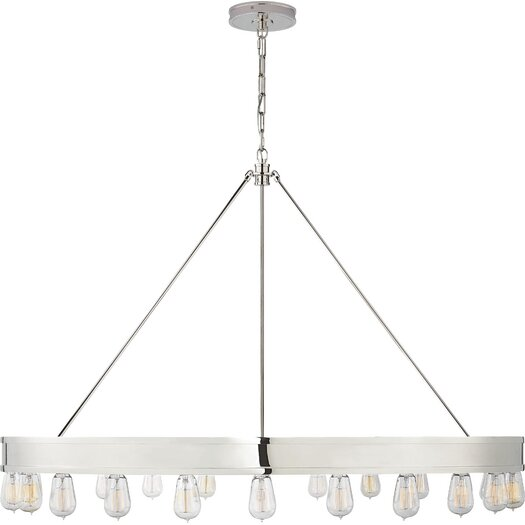 Ralph Lauren Home Roark Modular 24 Light Ring Chandelier