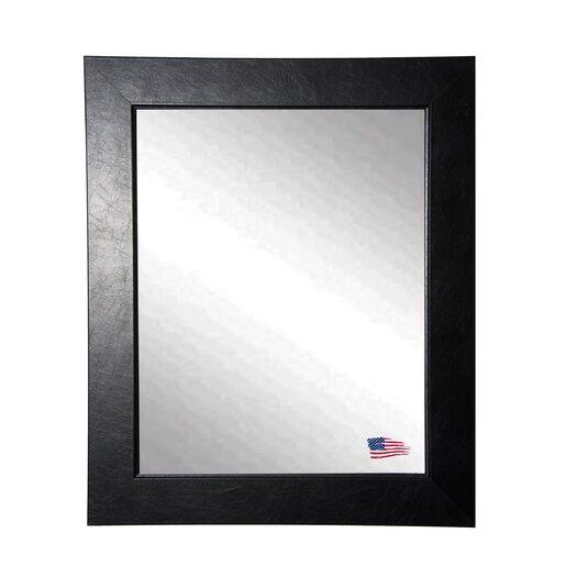 Rayne Mirrors Ava Executive Black Wall Mirror