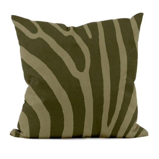 E By Design Animal Print Decorative Pillow