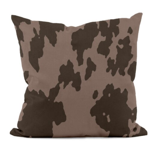 E By Design Animal Print Decorative Throw Pillow