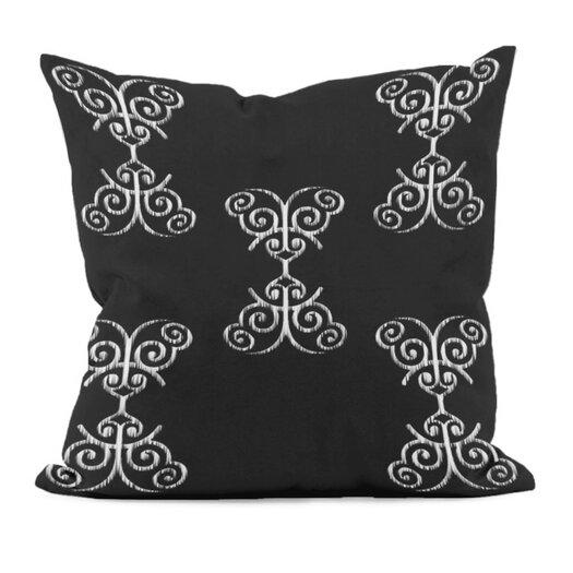 E By Design Floral Motif Decorative Pillow