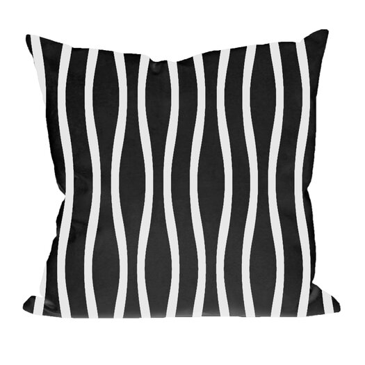 E By Design Wavy Stripe Decorative Pillow