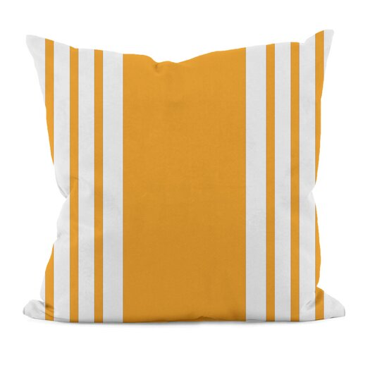 E By Design Big and Bold Stripe Decorative Pillow