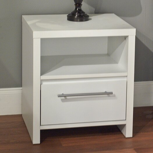TMS Henley 1 Drawer Nightstand