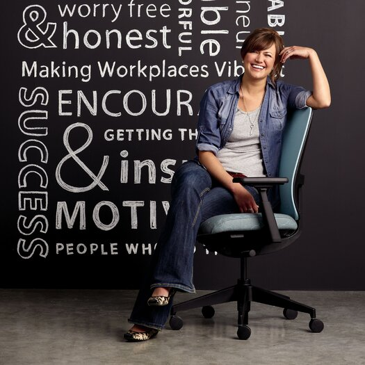 Haworth Lively Task Chair with Arms