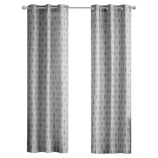 Intelligent Design Viva Window Pleated Curtain Panel