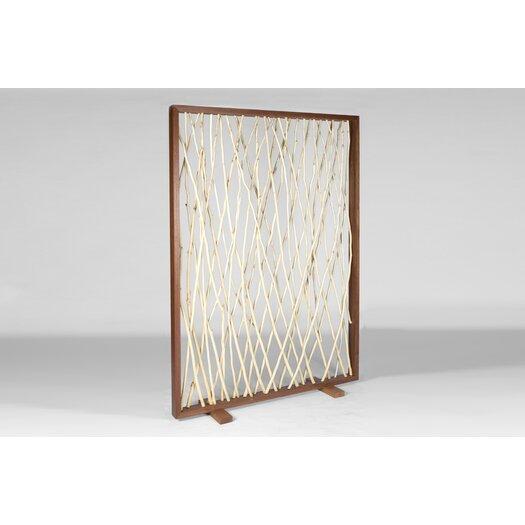 Urbia Naturals Woven Driftwood Framed Screen