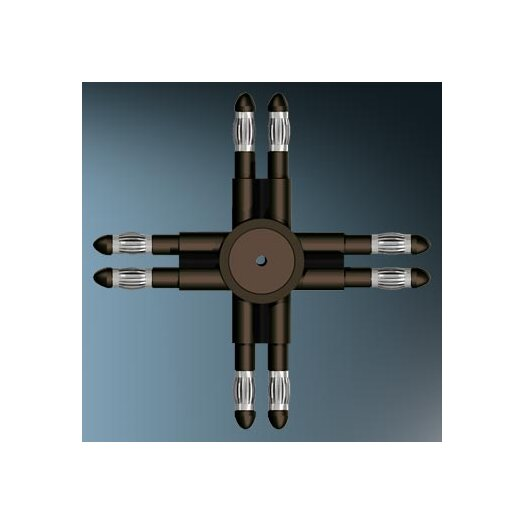 Bruck Lighting V/A Horizontal Cross Track Connector