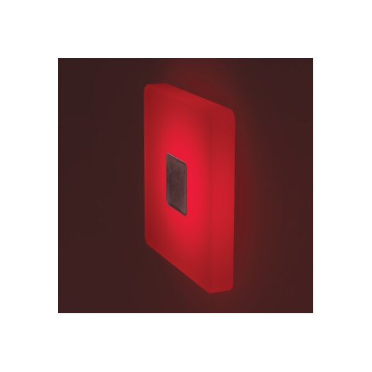 Bruck Lighting Ledra Ice 1 Round Light Wall Sconce