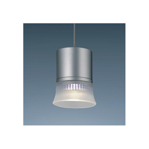 Bruck Lighting Flexline Apollos I 1 Light Monopoint Pendant with Canopy