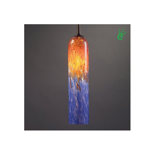 Bruck Lighting Chianti 1 Light Monopoint Pendant with Canopy