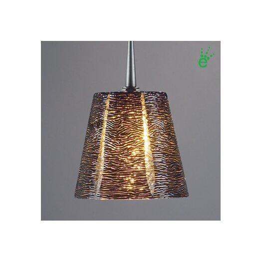 Bruck Lighting Bling I 1 Light Monopoint Pendant with Canopy
