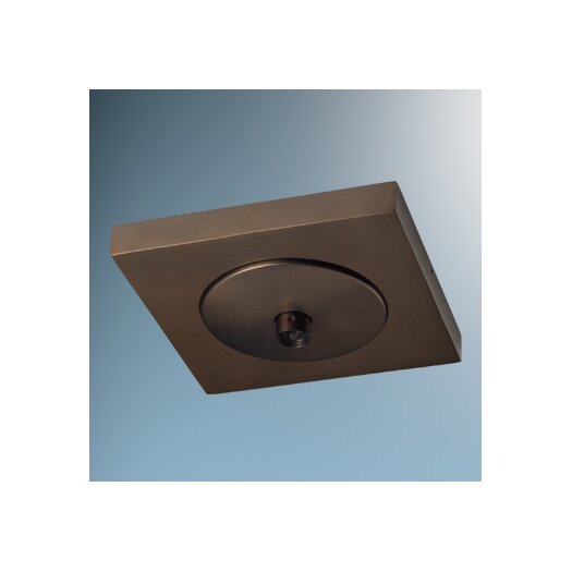 """Bruck Lighting 4"""" Square Surface Mount Canopy"""