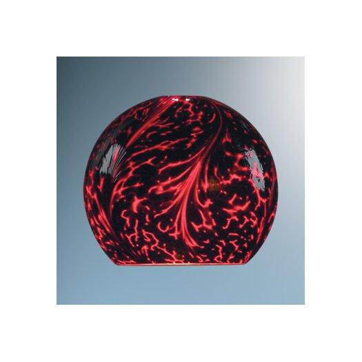 """Bruck Lighting 6"""" Zon Glass Round Track Head Shade"""
