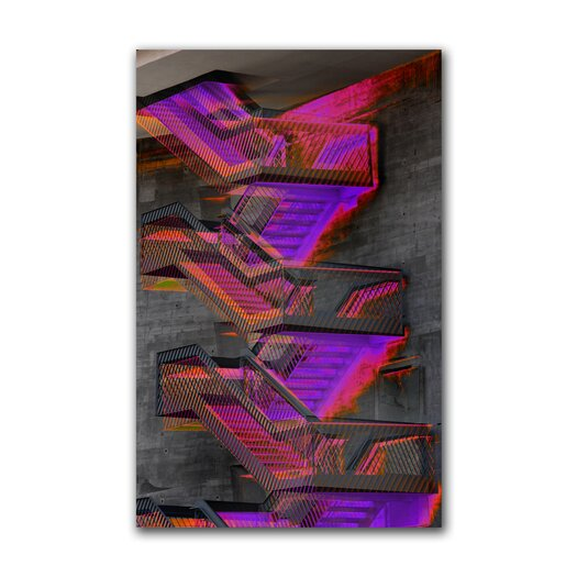 """Th-Ink Art """"Stepping Out"""" Graphic Art on Canvas"""