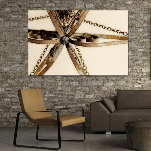 """Th-Ink Art """"Clad Chic"""" Gallery Wrapped Canvas Artwork"""