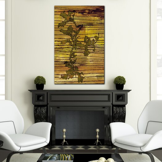 """Th-Ink Art """"Recollection"""" Graphic Art on Canvas"""