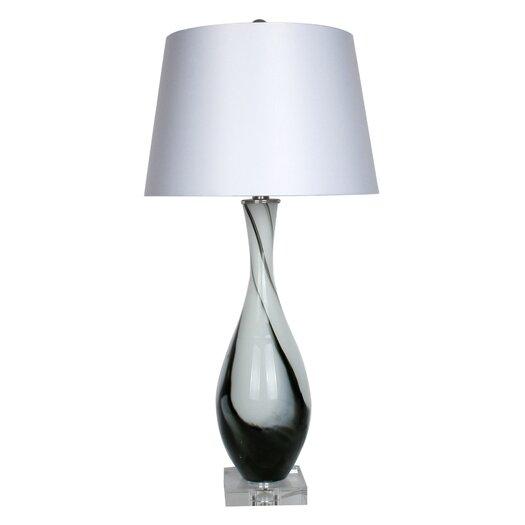 """Illuminada Art 32.5"""" H Table Lamp with Empire Shade"""