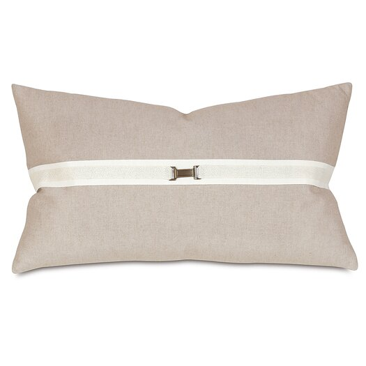 Thom Filicia Home Collection Lumbar Buckle Pillow