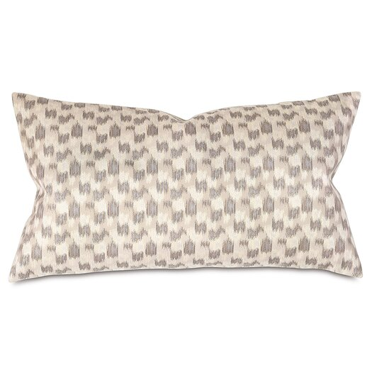 Thom Filicia Home Collection Mahoe Silver Lumbar Pillow