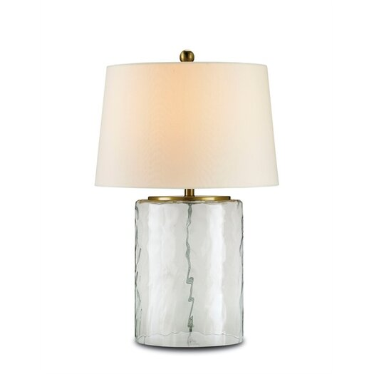 "Currey & Company Oscar 25"" H Table Lamp with Empire Shade"