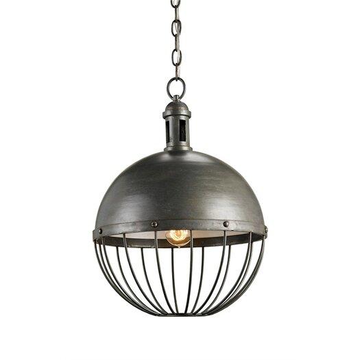 Currey & Company Verne 1 Light Globe Pendant
