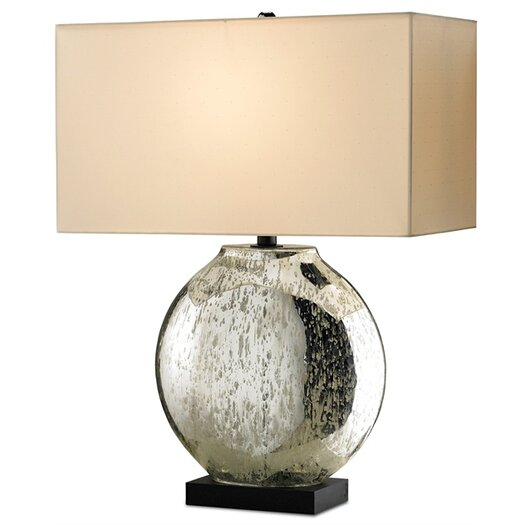 "Currey & Company Possibility 26"" H Table Lamp with Rectangular Shade"